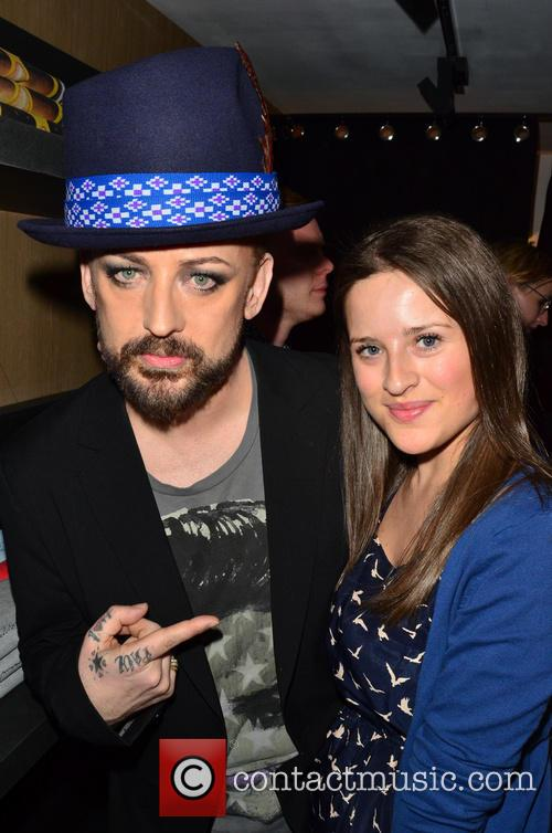 Boy George and Juliet Conway 2