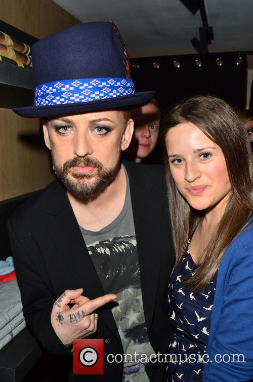 Boy George and Juliet Conway 4