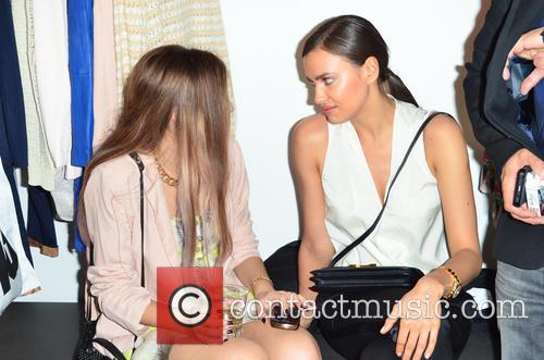 Irina Shayk and Amber Le Bon 3