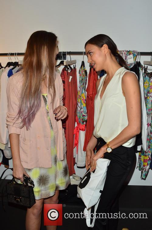 Irina Shayk and Amber Le Bon 10