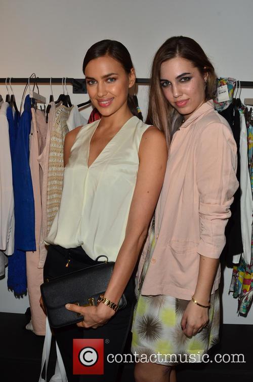 Irina Shayk and Amber Le Bon