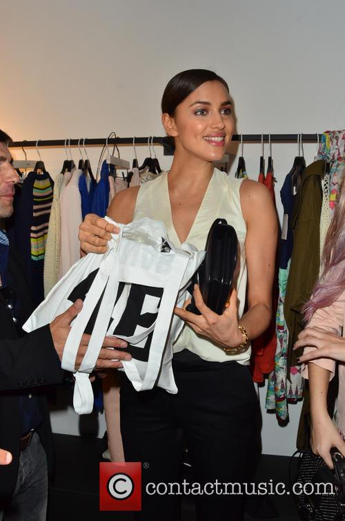 irina shayk eleven paris store launch 3628540