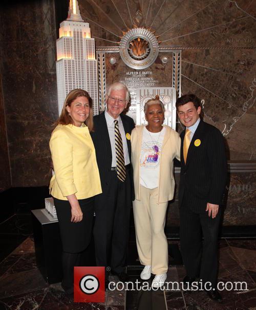 Beatrice Kernan, Guest, Dionne Warwick and Joseph Weilgus 2