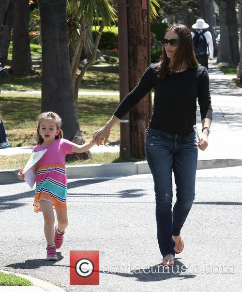 Jennifer Garner and Seraphina Affleck 2
