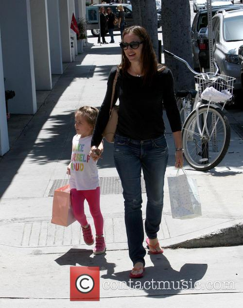 Jennifer Garner and Seraphina Affleck 7
