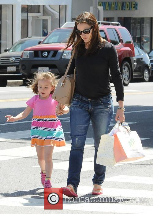 Jennifer Garner and Seraphina Affleck 9