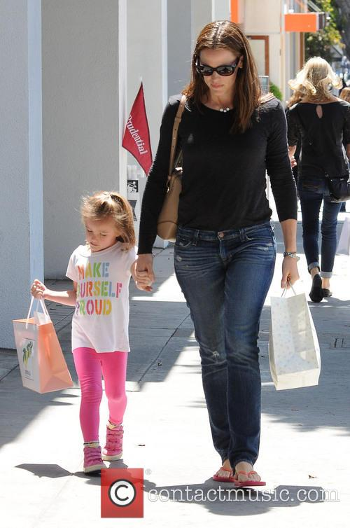 Jennifer Garner seen shopping with her daughter Seraphina...