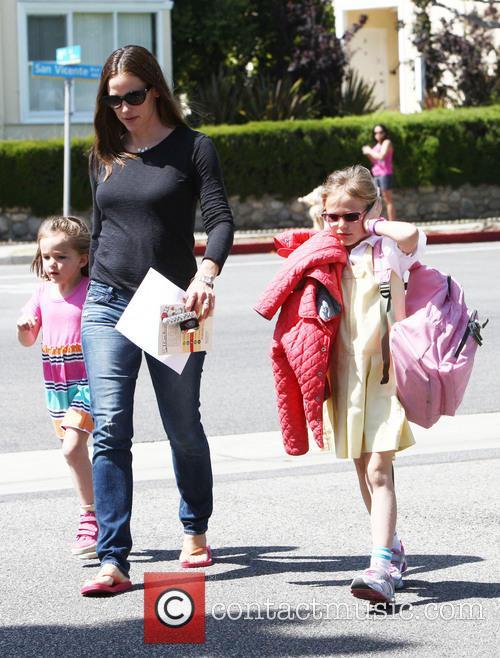Jennifer Garner, Violet Affleck, Seraphina Affleck