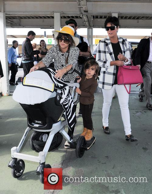 Kourtney Kardashian, Kris Jenner and Mason Disick 5