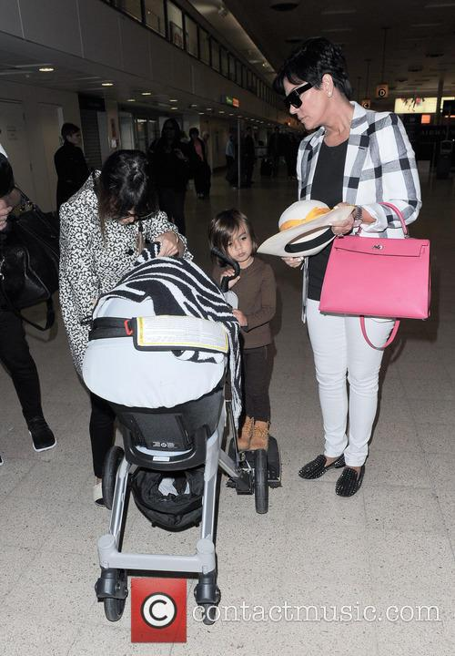 Kourtney Kardashian, Kris Jenner and Mason Disick 6