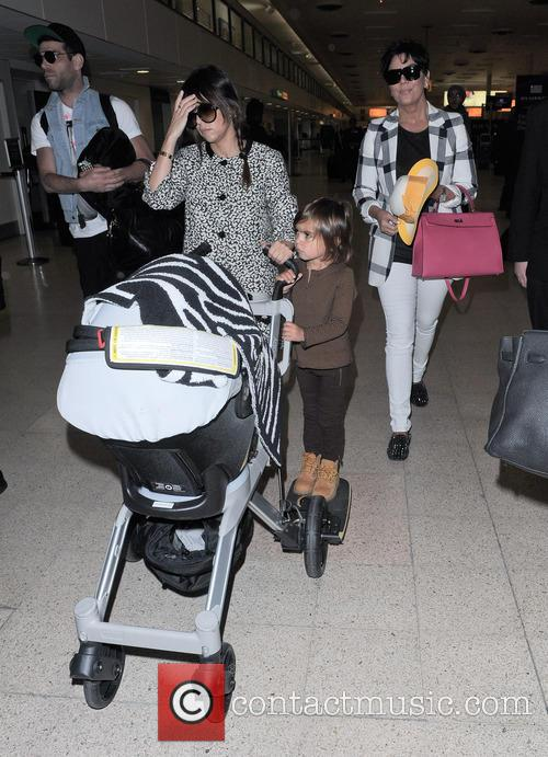 Kourtney Kardashian, Kris Jenner and Mason Disick 8