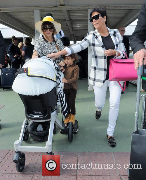 Kourtney Kardashian, Kris Jenner and Mason Disick 1