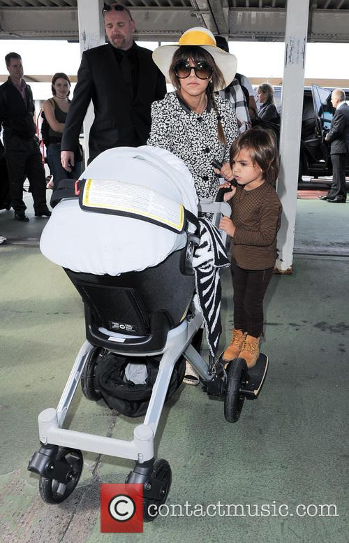 Kourtney Kardashian and Mason Disick 7