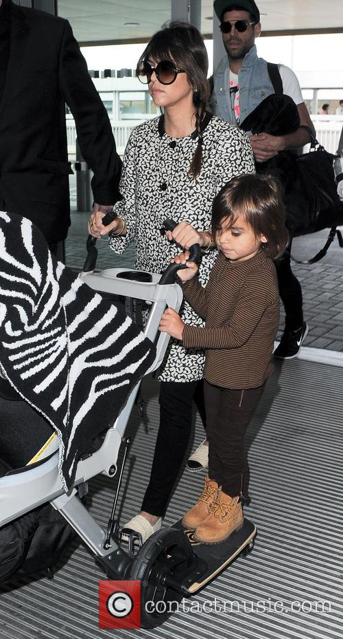 Kourtney Kardashian and Mason Disick 10