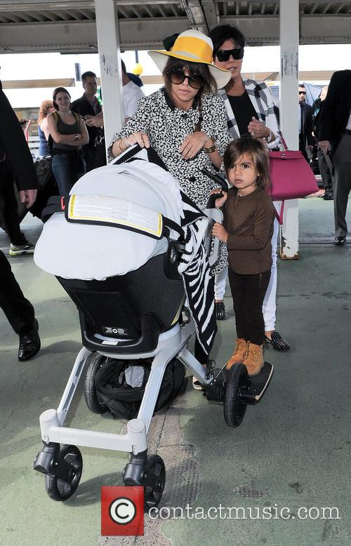 Kourtney Kardashian and Mason Disick 11