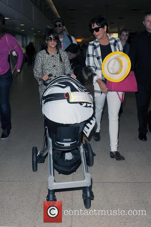 Mason Disick, Kourtney Kardashian and Kris Jenner 13