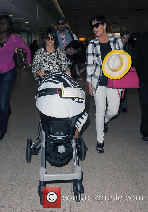 Mason Disick, Kourtney Kardashian and Kris Jenner 18