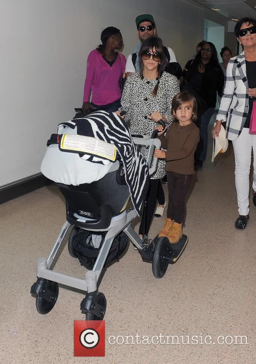 Mason Disick, Kourtney Kardashian and Kris Jenner 24