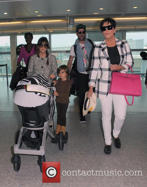 Mason Disick, Kourtney Kardashian and Kris Jenner 26