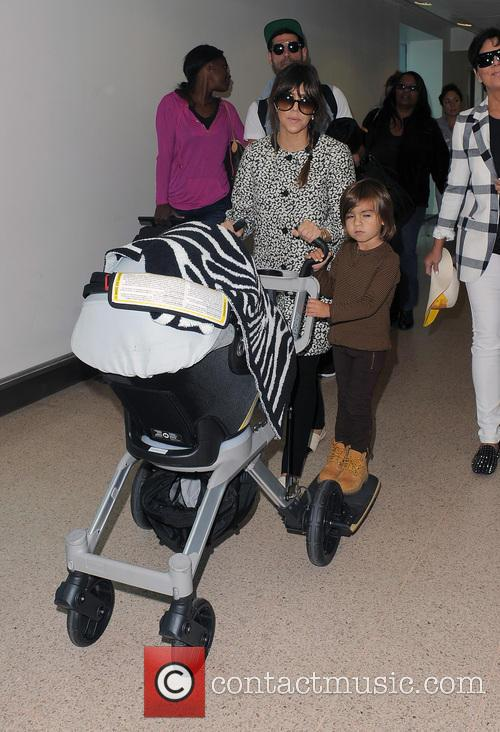 Mason Disick, Kourtney Kardashian and Kris Jenner 28