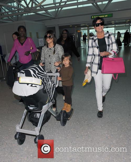 Mason Disick, Kourtney Kardashian and Kris Jenner 33