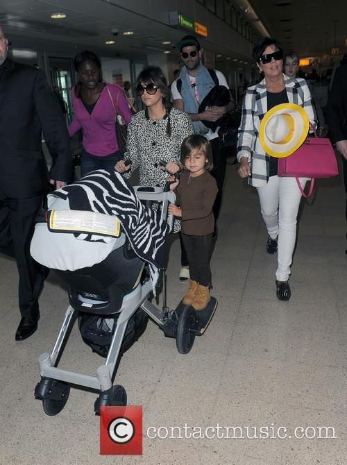 Mason Disick, Kourtney Kardashian and Kris Jenner 35
