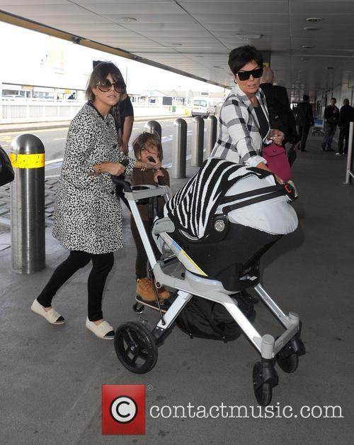 Mason Disick, Kourtney Kardashian and Kris Jenner 37