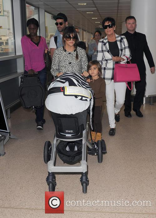 Mason Disick, Kourtney Kardashian and Kris Jenner 39