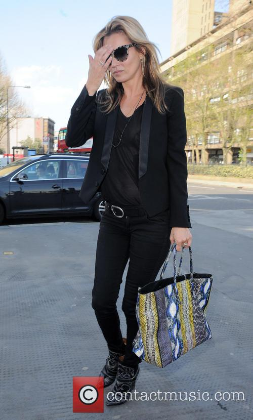 Kate Moss seen out and about shopping