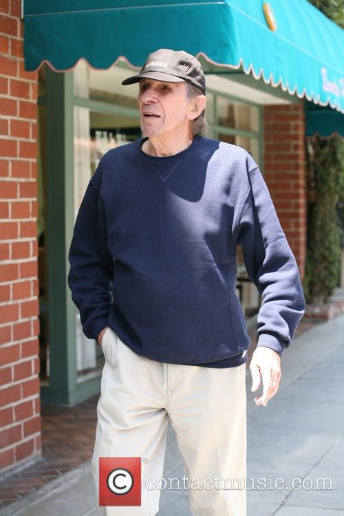 Leonard Nimoy out and about