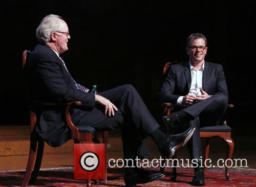 Matt Damon and John A. Lithgow 11