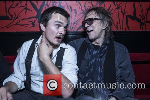 Rupert Friend and Mick Rock 2