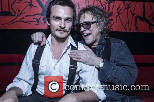 Rupert Friend and Mick Rock 4