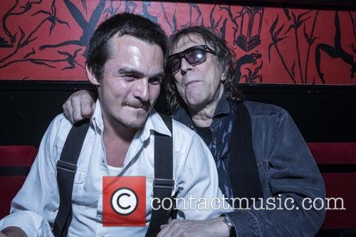 Rupert Friend and Mick Rock 6