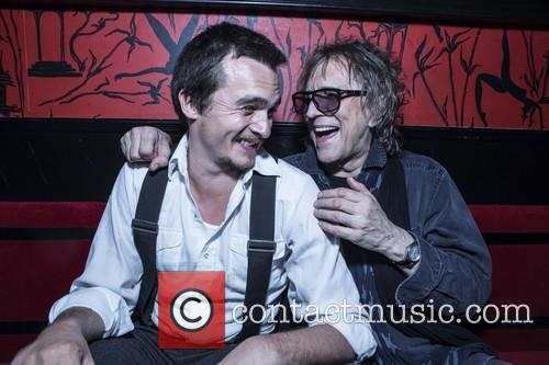 Rupert Friend and Mick Rock 9