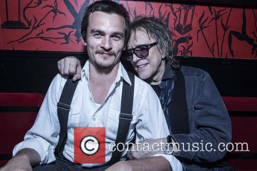 Rupert Friend and Mick Rock 11