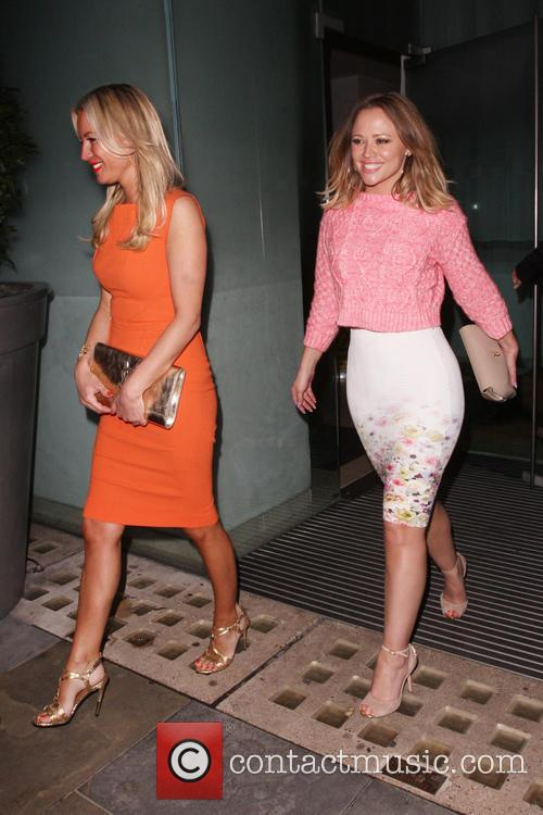 Denise Van Outen and Kimberley Walsh 5