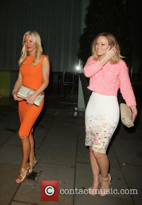 Denise Van Outen and Kimberley Walsh 6
