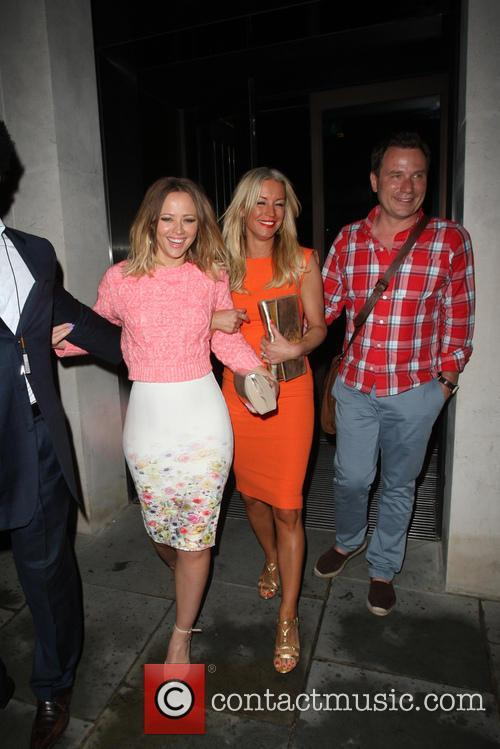 Kimberley Walsh and Denise Van Outen 2