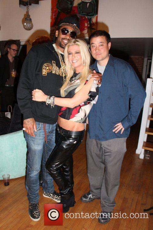 Tony Deniro, Tara Reid and Garry