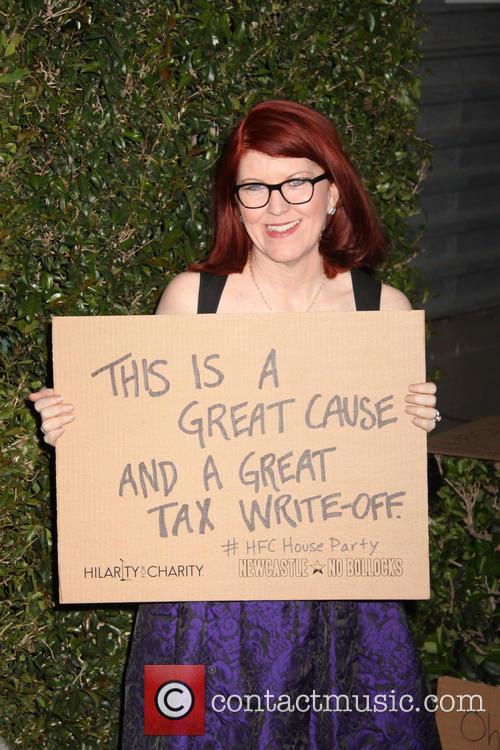 kate flannery hilarity for charity benefiting the 3629964