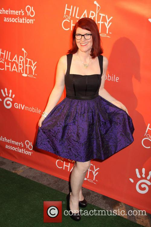 kate flannery hilarity for charity benefiting the 3629993