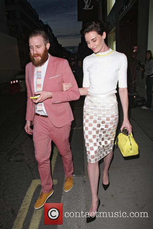 erin o'connor celebrities at the louis vuitton 3629022