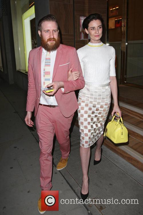 Celebrities at the Louis Vuitton party on New...