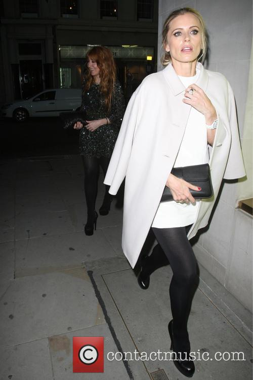 Celebrities at the Louis Vuitton party on New Bond Street