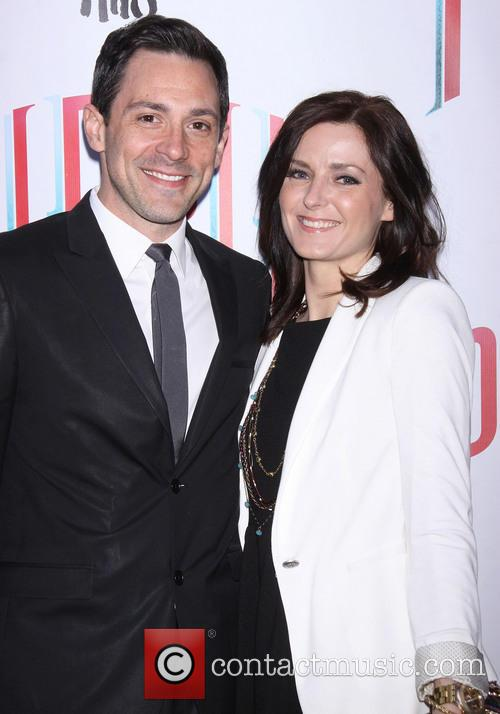Music Box Theatre, Steve Kazee and Sarah Fitzpatrick 8