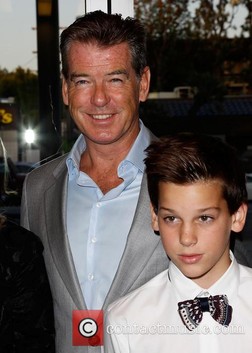 Pierce Brosnan and Paris Brosnan 5