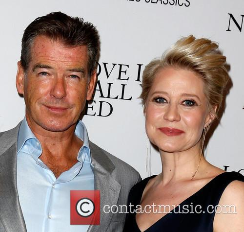 Pierce Brosnan and Trine Dyrholm 2