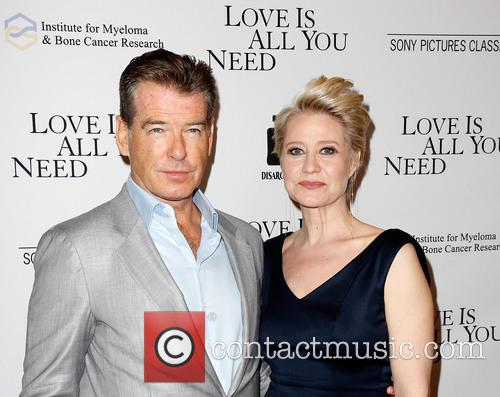 Pierce Brosnan and Trine Dyrholm 3
