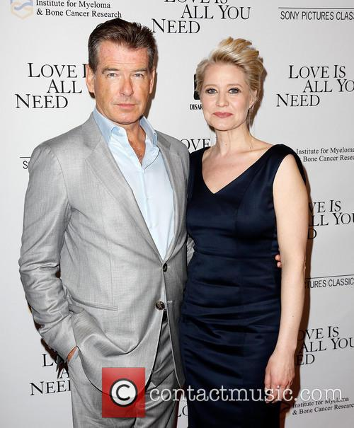 Pierce Brosnan and Trine Dyrholm 4